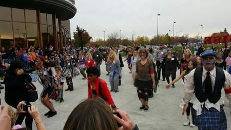 thriller flashmob